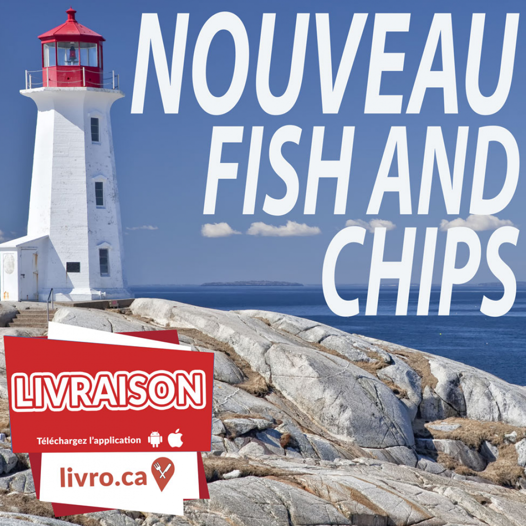 Nouveauté FISH and CHIPS!